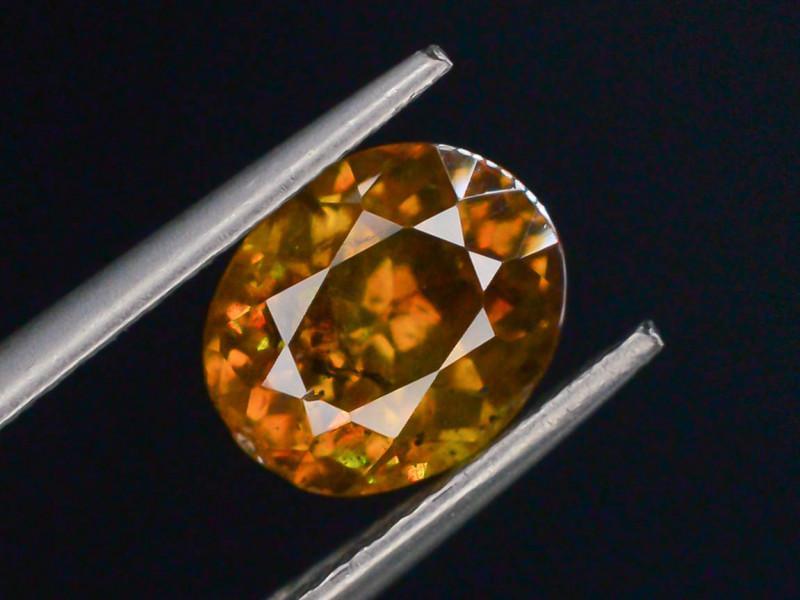 Rare 2.40 ct Sphalerite Great Dispersion