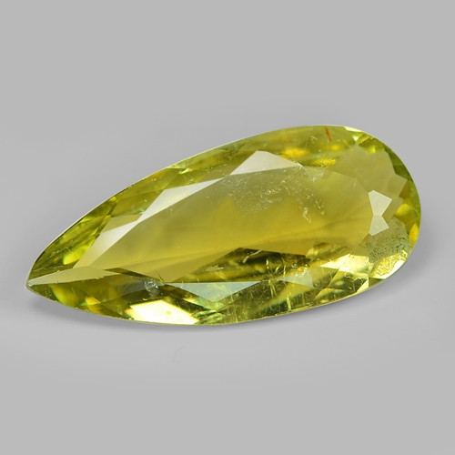 10.27  Cts UN HEATED YELLOW COLOR NATURAL TOURMALINE LOOSE GEMSTONE