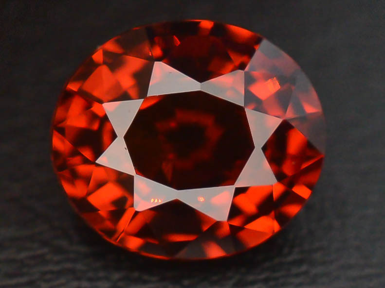 1.55 ct Natural Fanta Orange Color Spessartite Garnet