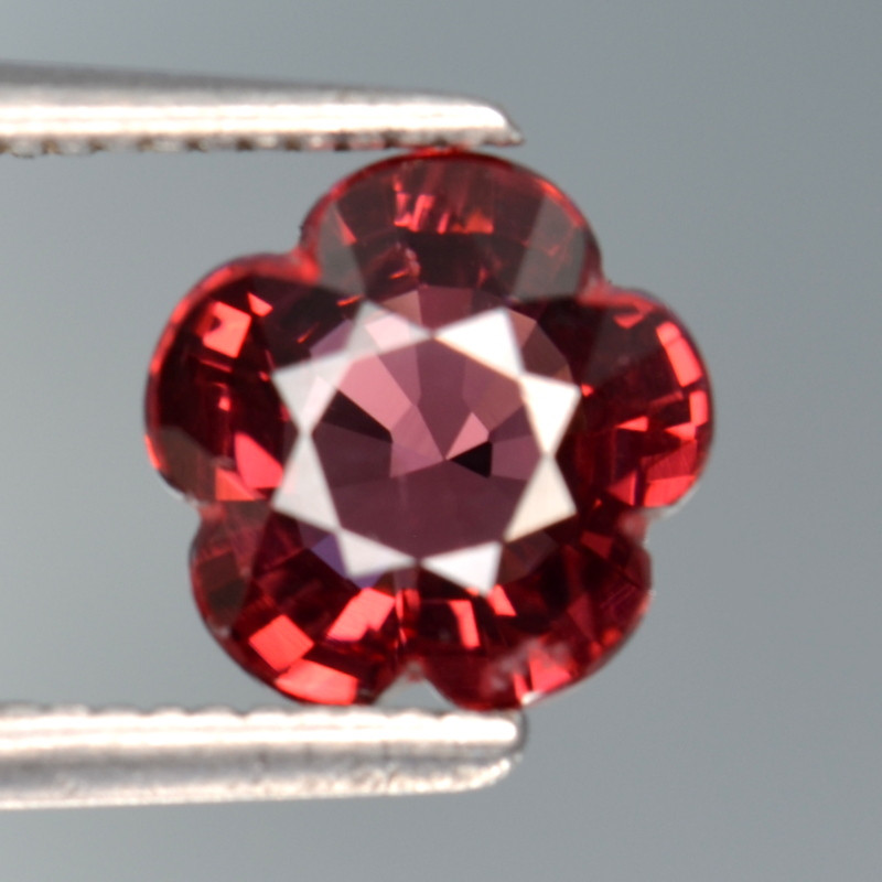 1.90 Cts Natural Cherry Red Garnet Awesome Color ~ Africa SR3