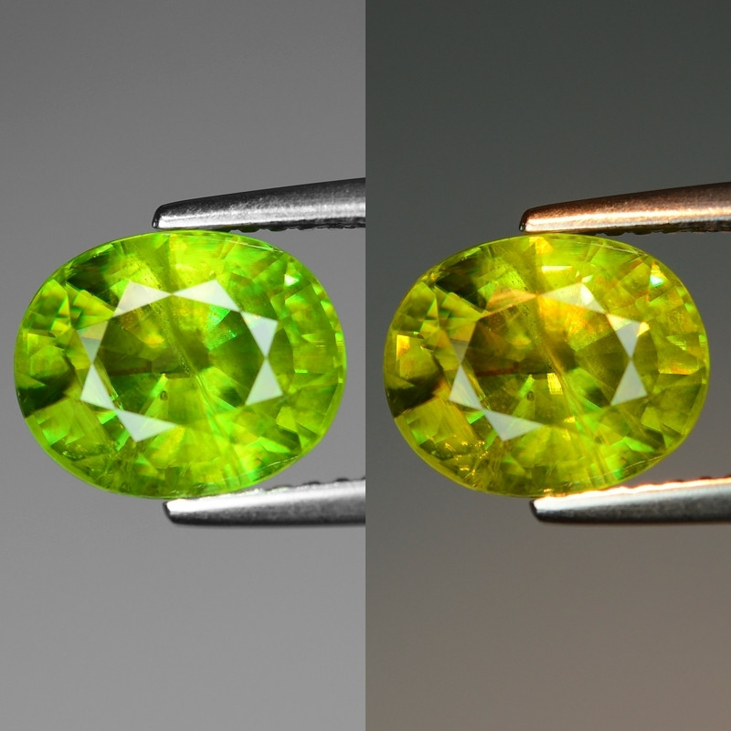 Mind Blowing Fire 3.76 Cts Chrome Sphene ~ SF56