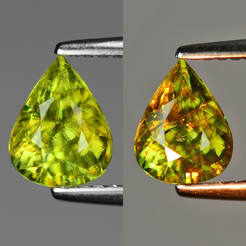 Mind Blowing Fire 1.32 Cts Chrome Sphene ~ SF60