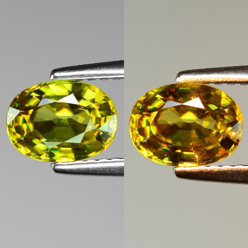 Mind Blowing Fire 1.29 Cts Chrome Sphene ~ SF63