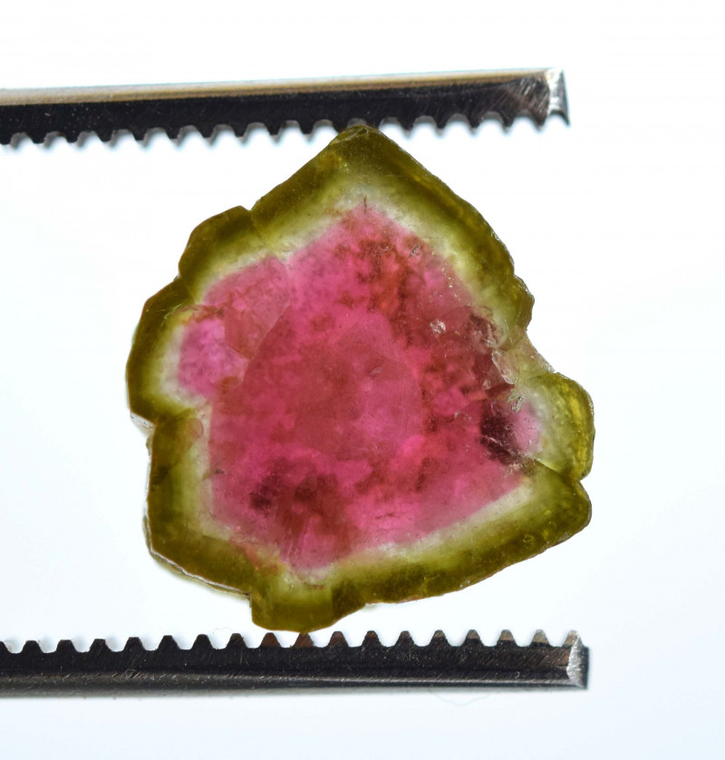 6.40 Carats Top Grade Stunning Complete And Top Color Watermelon Slice From