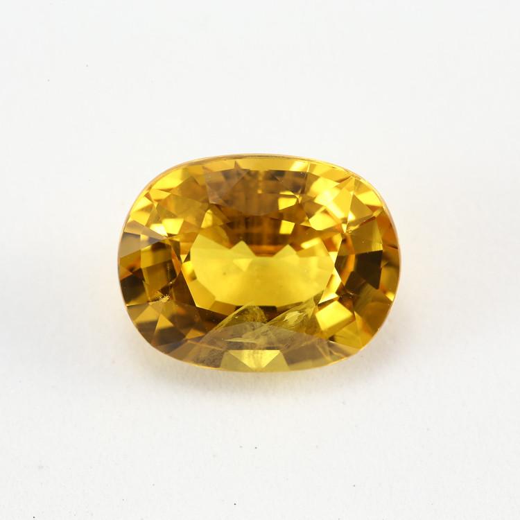 **Stunning** 7.23ct Lab Certified Yellow Sapphire