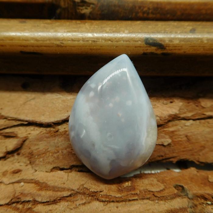 Fancy agate cabochon bead (G1329)