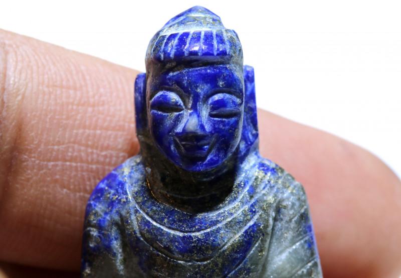 117.50 cts Buddha Carving Lapis Lazuli LT-925