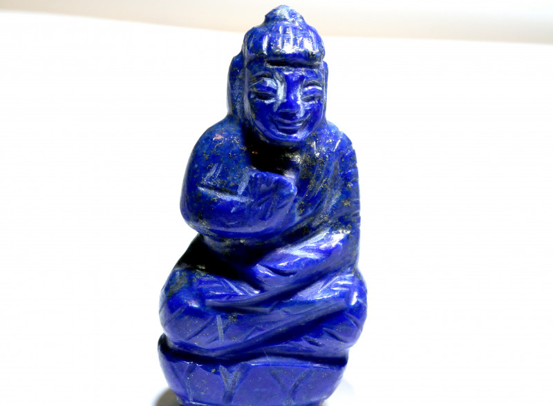 82.10 cts Buddha Carving Lapis Lazuli LT-926