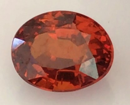 Cinnamon Red Hessonite Garnet - Sri Lanka  H696