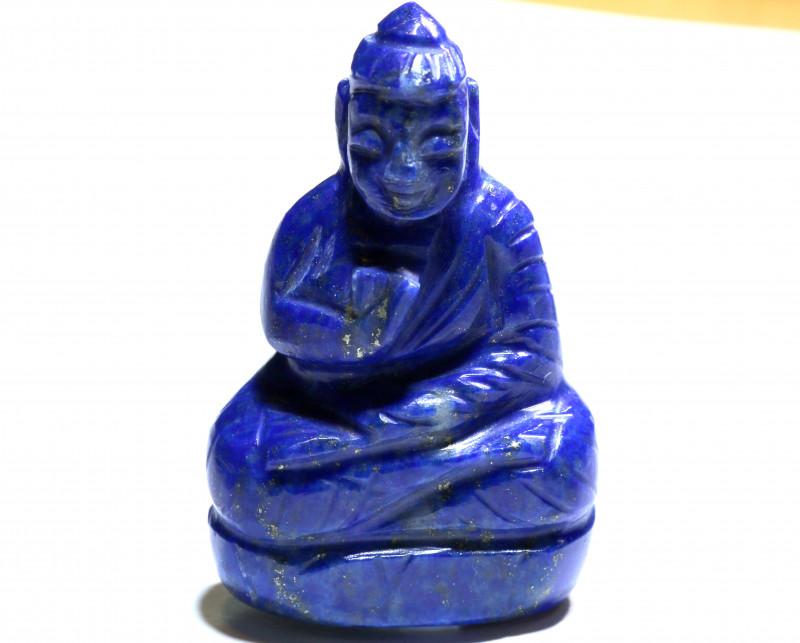 90.20 cts Buddha Carving Lapis Lazuli LT-928