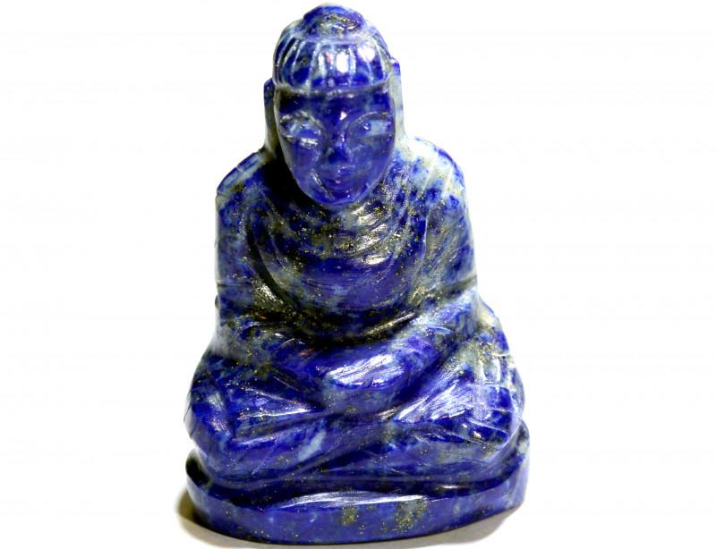 95.90 cts Buddha Carving Lapis Lazuli LT-932