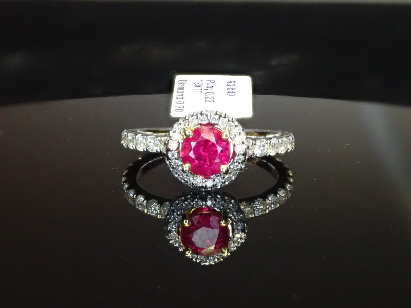 .83ct Ruby Ring - Burma