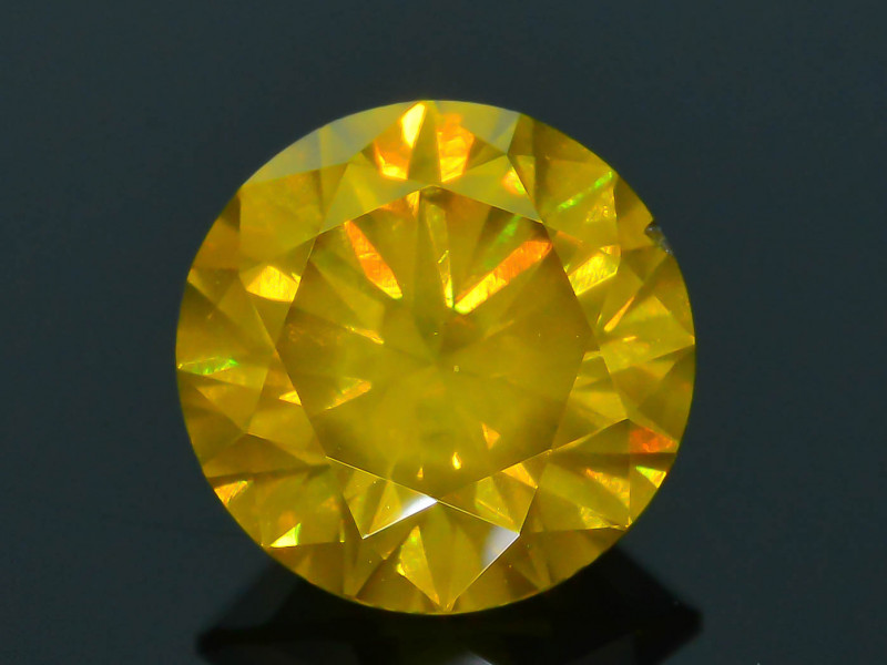 AAA Grade 1.49 ct Yellow Diamond SKU-16
