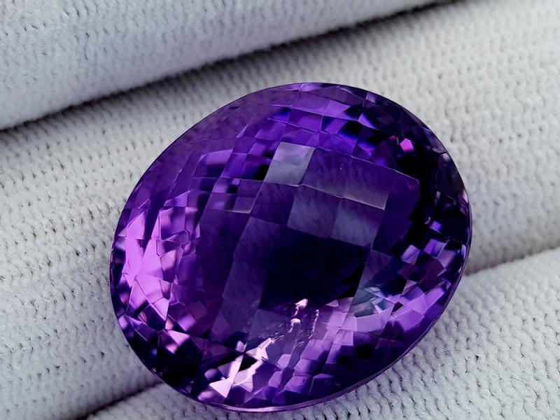 41.65Ct Natural Amethyst Gemstones IGCam46