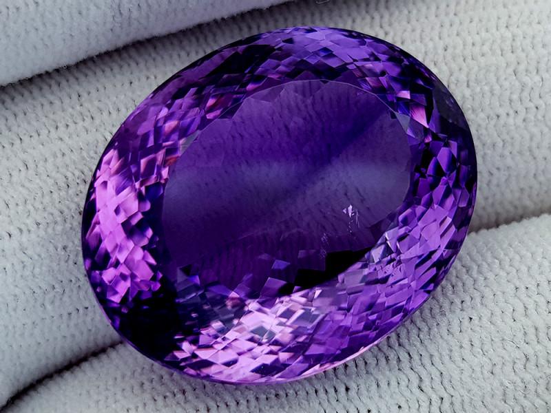 55Ct Natural Amethyst Gemstones IGCam49