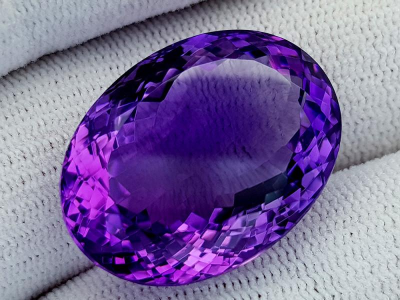 41Ct Natural Amethyst Gemstones IGCam71