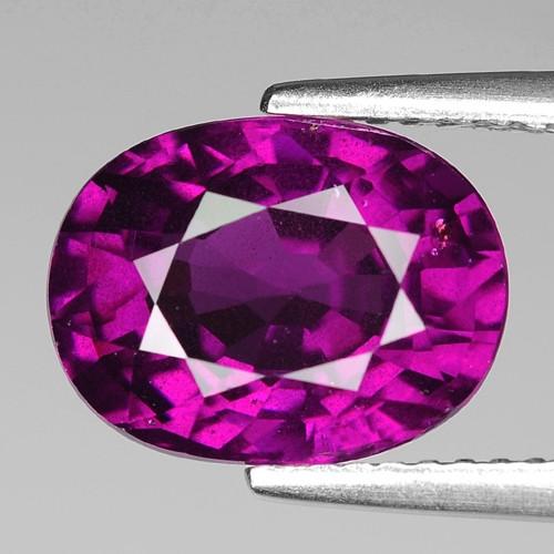 Rare 4.93 Cts Gorgeous Color Grape- Purple Garnet  ~ Mozambique PG32