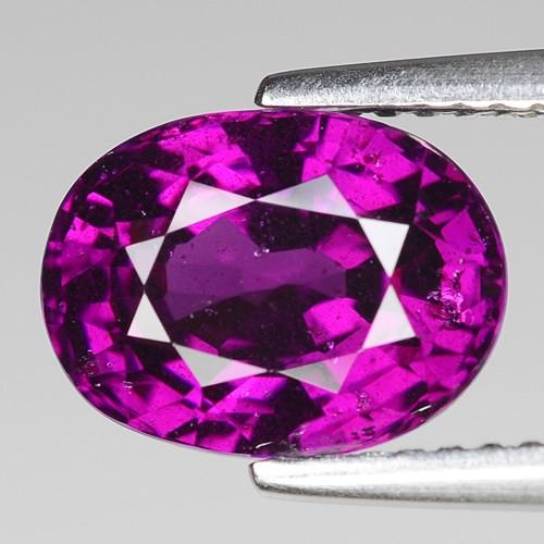 Rare 4.26 Cts Gorgeous Color Grape- Purple Garnet  ~ Mozambique PG35