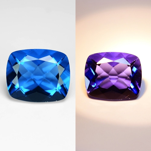 4.79 Cts Rare Color Changing Fluorite Natural Gemstone