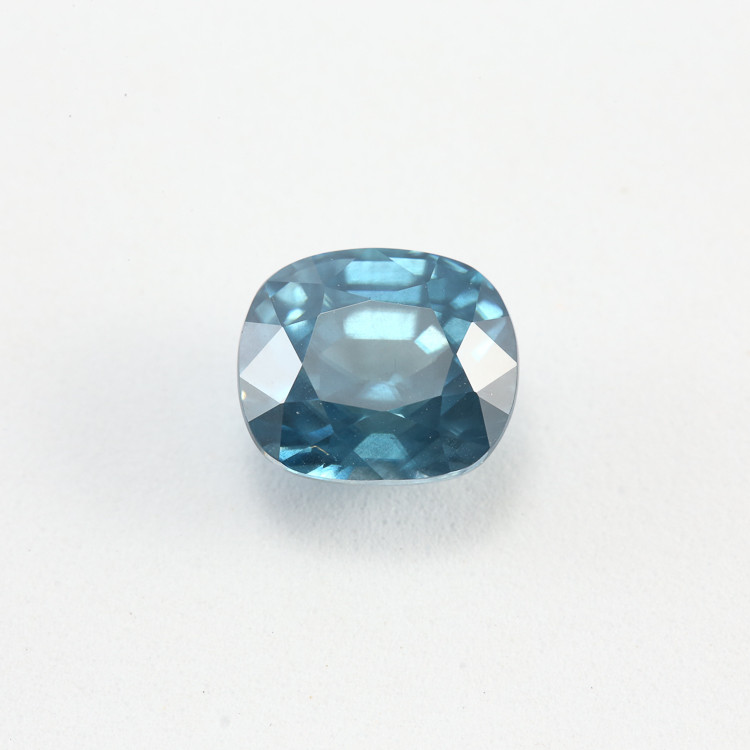 4.95ct Lab Certified Blue Zircon