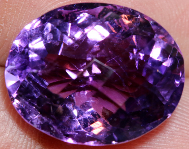 16.35- CTS AMETHYST FACETED STONE CG-2439