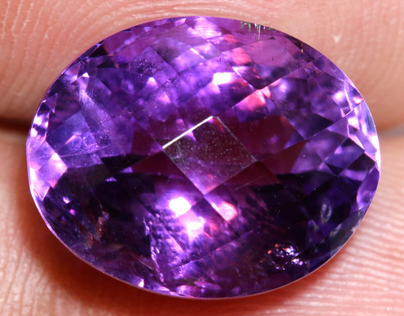 12.25 - CTS AMETHYST FACETED STONE CG-2448