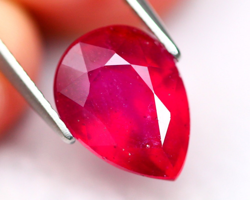 Ruby 5.43Ct Madagascar Blood Red Color Ruby A3003