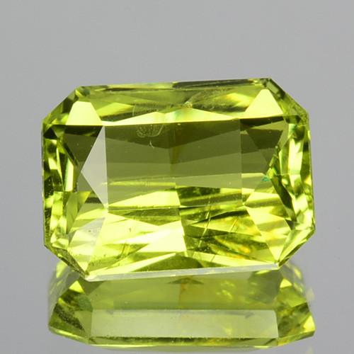 2.20 Cts Natural Lime Green Chrysoberyl SriLanka Gem