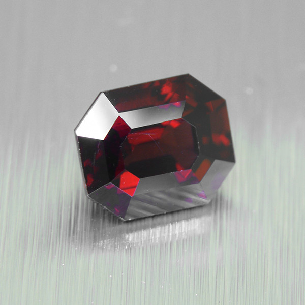 Natural Untreated RED SPINEL 1.54ct Octagon Step Cut (01508)