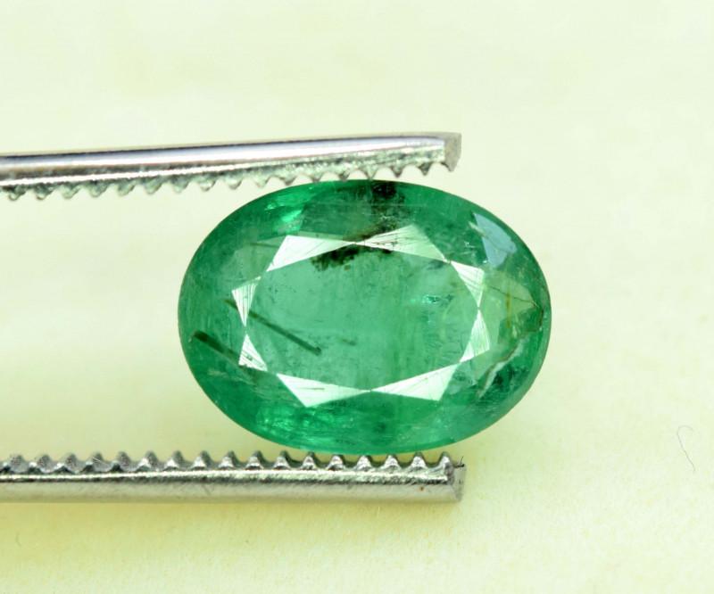 3.05 Carats Green Color Zambain Emerald Gemstone