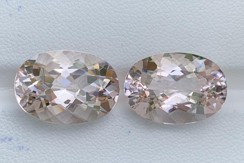 19.05 Carats Morganite Gemstones