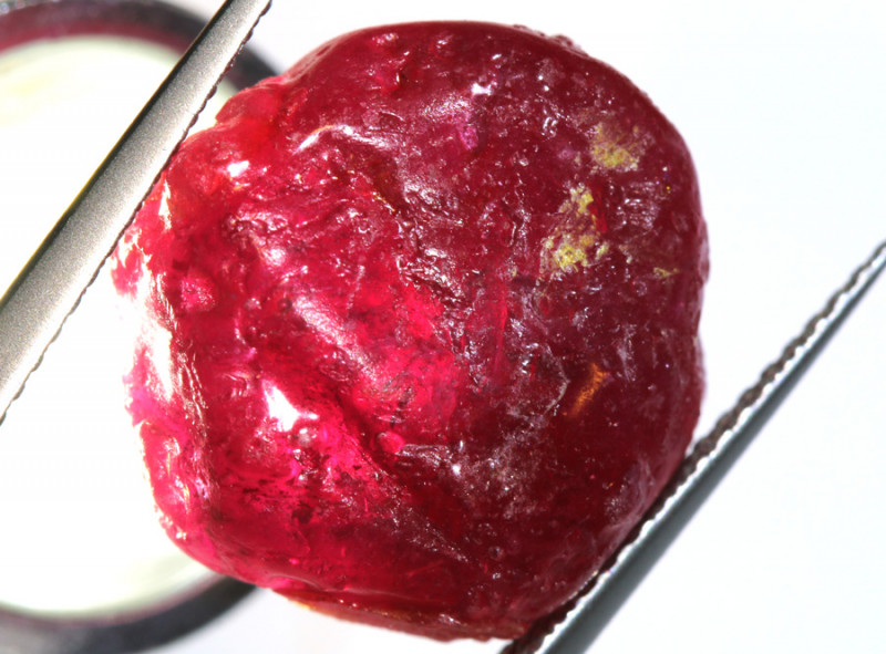 25.40-CTS RICH RED RUBY ROUGH RG-4727