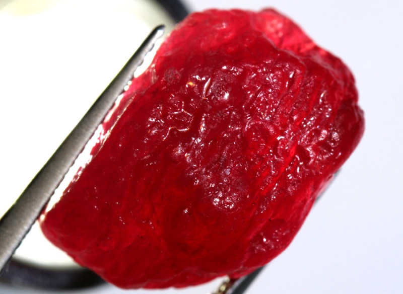24.60 -CTS RICH RED RUBY ROUGH RG-4732