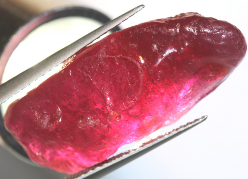 30.90-CTS RICH RED RUBY ROUGH RG-4741