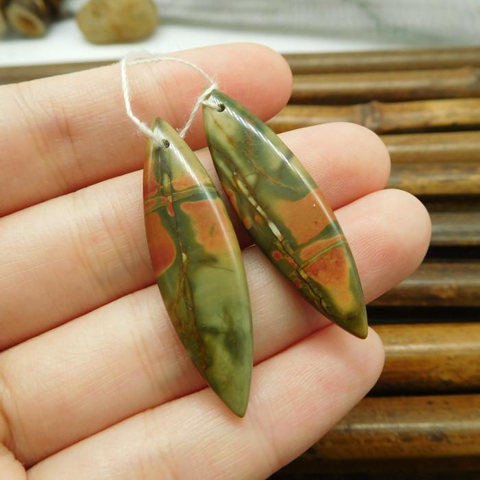 Picasso jasper earring pairs (G1805)