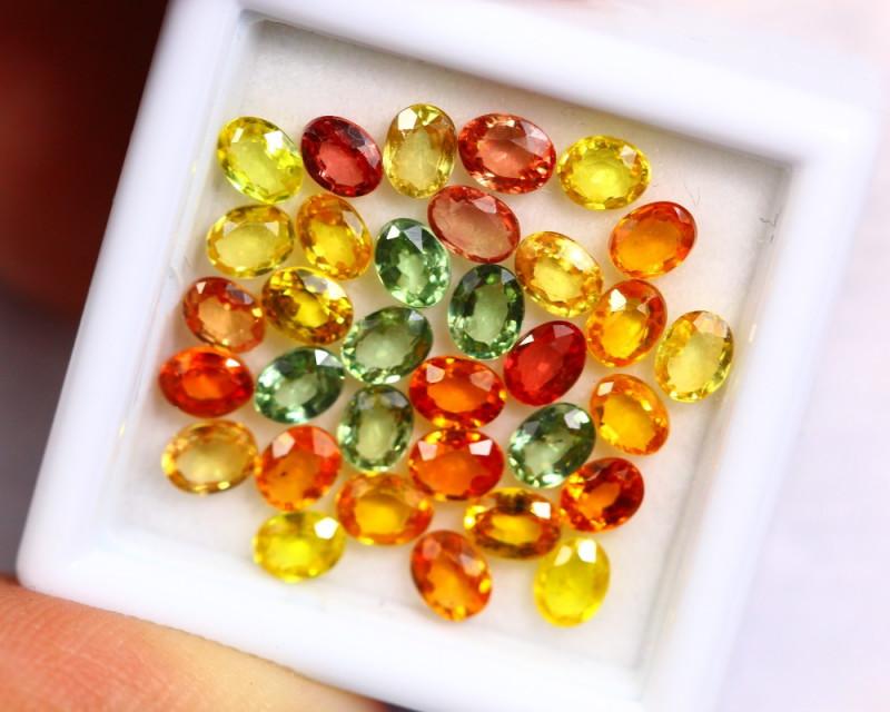 7.40cts Natural Fancy Colour Sapphire Lots /BIN310