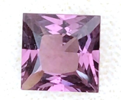 1.85ct Pricess Cut Purple Pink Spinel - Burma H711
