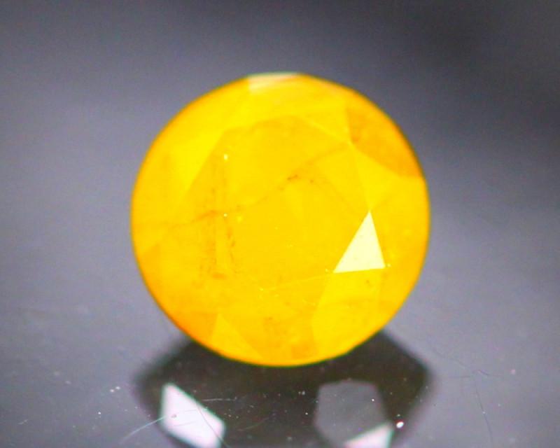 Diamond 0.38Ct Natural Yellow Color Fancy Diamond 30CF33