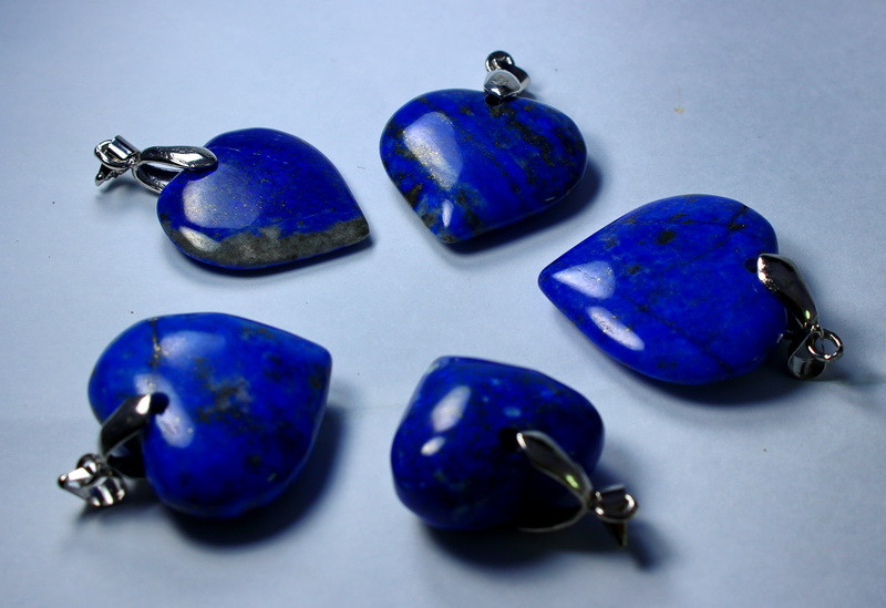 193 CT Unheated ~ Natural Blue  Color Lapis Carved Pendant Special Shape Lo
