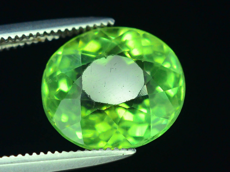 Great Luster 4.55 ct Green Apatite