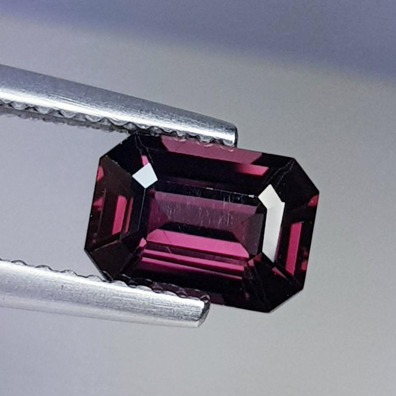 1.38 ct AAA Grade Gem  Octagon Cut Natural Pinkish Pink Spinel