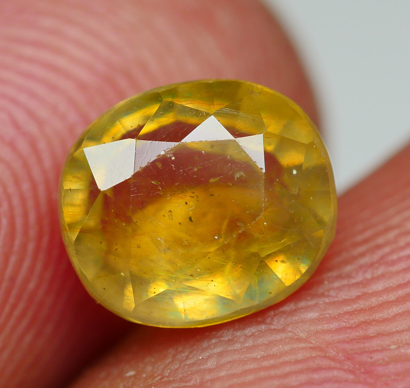 2.45 CRT BEAUTY YELLOW SAPPHIRE FACETED-