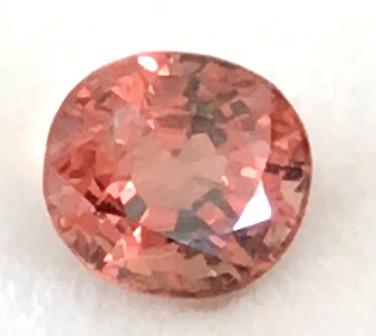 Pretty Bright Pinkish Orange 1.20ct Oval Spinel - Vietnam H714