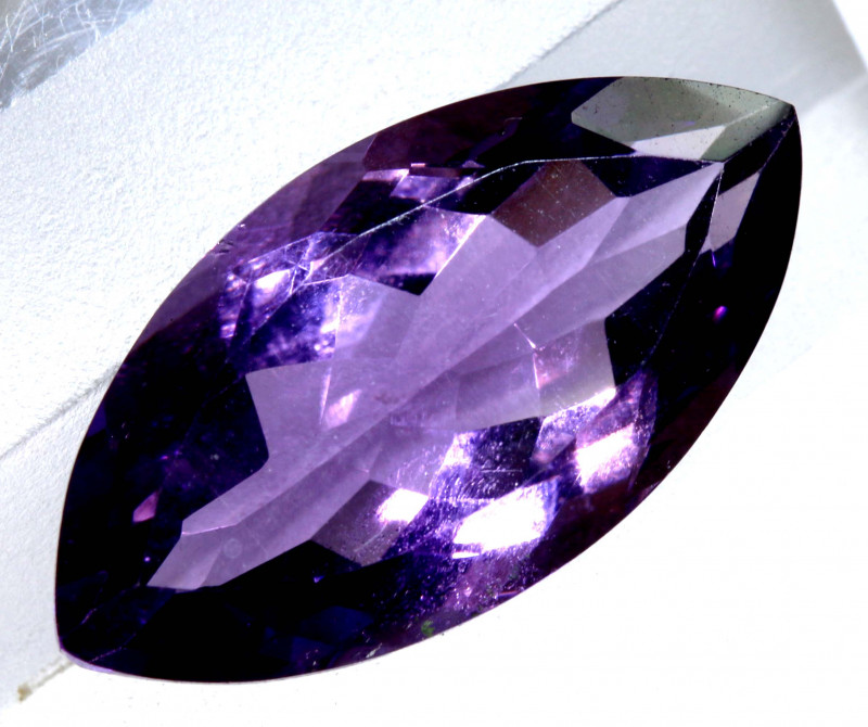 5.25 CTS AMETHYST FACETED STONE CG-2751