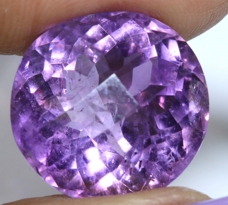 17.45 CTS AMETHYST FACETED STONE CG-2754