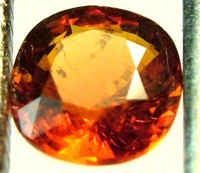 GARNET SPESSARTITE FACETED 1.05 CTS  FN 4488  (PG-GR)