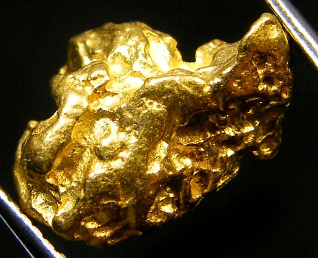LARGE AUSTRALIAN  GOLD NUGGET  3.93 GRAMS  LGN 514