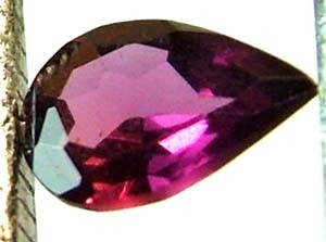 RHODALITE GARNET FACETED 1.25 CTS PG-490