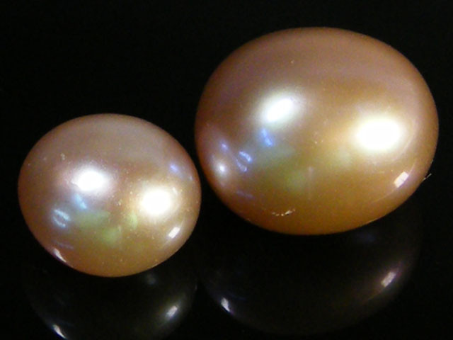 FREE S/2 PCS GOOD LUSTER FRESH WATER PEARLS 13.10 CTS SG1572