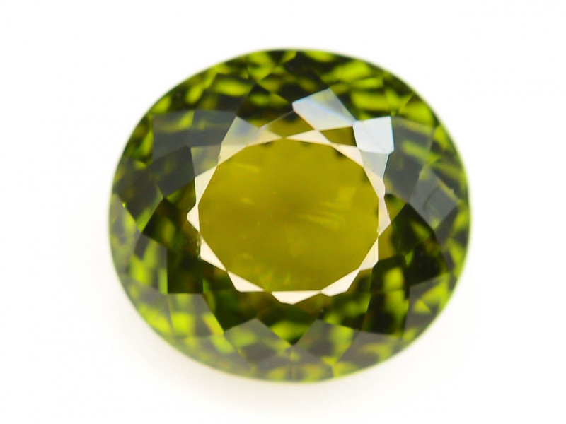 Top Grade 3.50 ct Natural Green Color Tourmaline